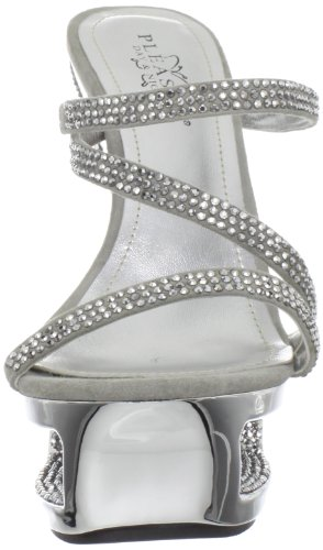 603 Gris Deluxe Shoes Usa Pleaser qawCvAW