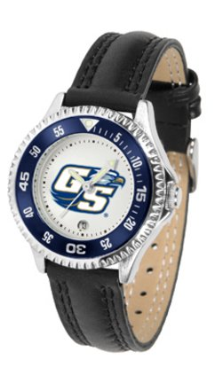 SunTime Georgia Southern Eagles Competitor Ladies Watch with Leather Band