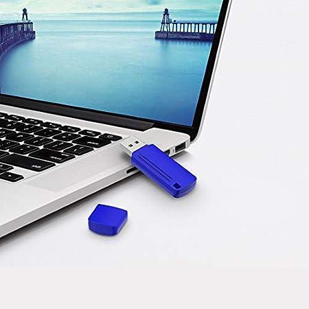 Silver TOPESEL 32GB USB 2.0 Flash Drives Metal Memory Stick Waterproof Thumb Drive