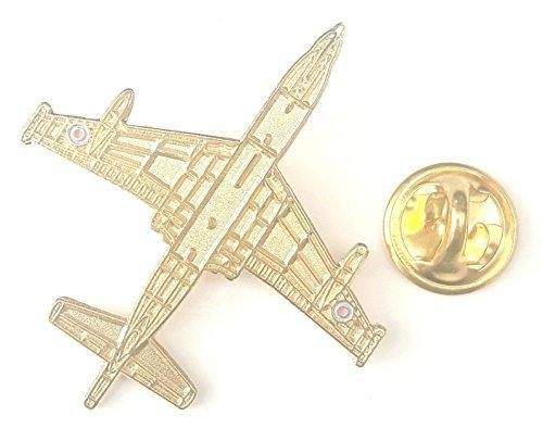 Nimrod Or Couleur Avion Plan Vue Badge Épinglette En Émail