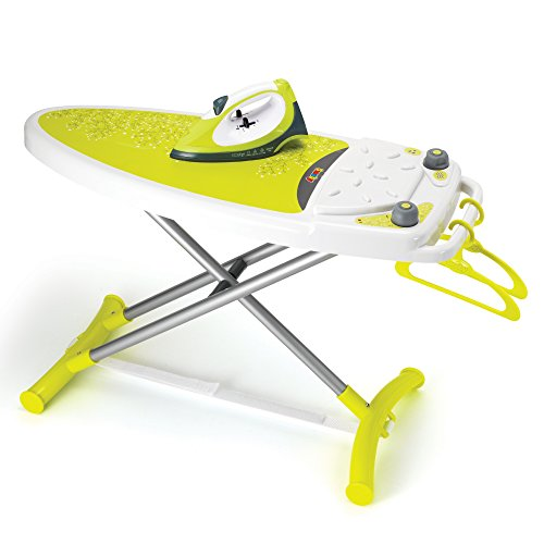 Smoby Pretend Ironing Board and Electronic Iron Toy, Multicolor ()