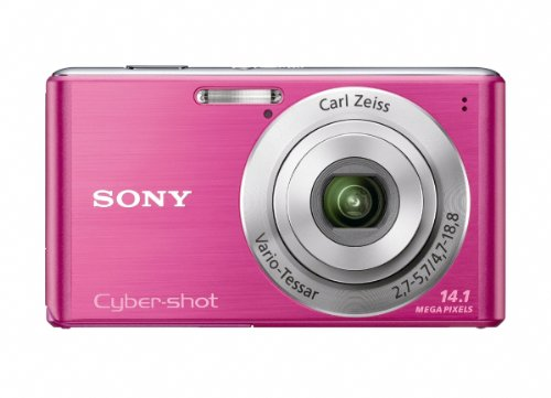 Sony Cyber-Shot DSC-W530 14.1 MP Digital Still Camera with Carl Zeiss Vario-Tessar 4x Wide-Angle Optical Zoom Lens and 2.7-inch LCD (Pink) (OLD MODEL)