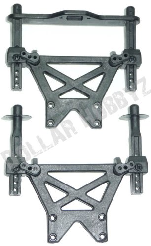 Traxxas 1/10 T-Maxx 3.3 * FRONT & REAR SHOCK TOWERS & BODY POSTS * Mount Stay