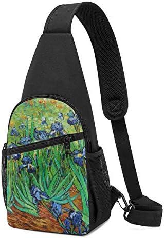 ボディ肩掛け 斜め掛け アイリス ショルダーバッグ ワンショルダーバッグ メンズ 軽量 大容量 多機能レジャーバックパック