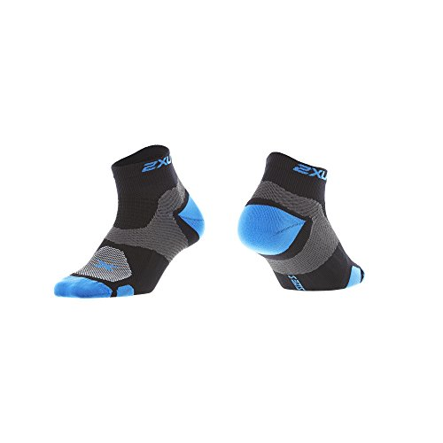 Calcetines mujer Blau Atoll 2 Training para Schwarz x 2xu deportivos Vectr U wCEvXqBv
