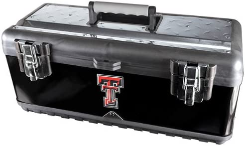 Team ProMark NCAA Texas Tech Red Raiders Heavy Duty Steel Toolbox