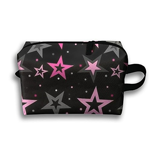 Shining Star Full Print Classic Travel Cosmetic Pouch Bag Co