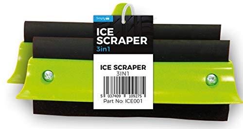 Gewoon ICE001 3 in 1 venster demister, ijs Schraper en Sponge