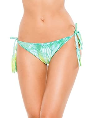 Women's Summer Time Tie Side Hipster Bikini Bottom