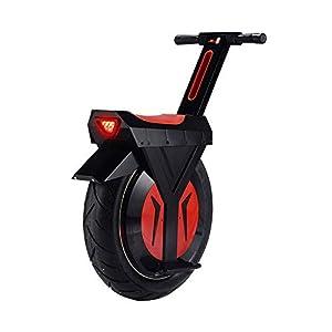 """41pSfoMYwnL. SS300 GJZhuan Monociclo Elettrico con Bluetooth Speaker 60V / 500W Moto Hoverboard Una Ruota Motorino di Skateboard Monoruota Bicicletta Elettrica 17"""" Big Wheel (Size : 30KM)"""