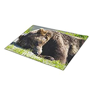 Yaner Green Foot Mat Animals Timeless Moments Commercial Entrance Mats