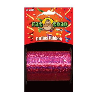 CURLING RIBBON FUSHIA SPARKLE 20YDS #34270, CASE OF 144 by DollarItemDirect