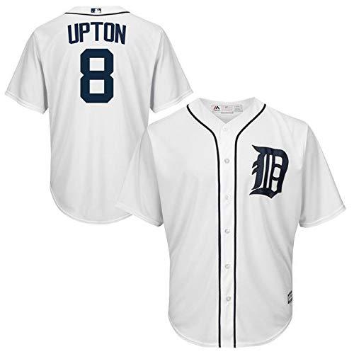 Majestic Justin Upton Detroit Official Tigers M White Upton Official Cool Base Player Jersey スポーツ用品【並行輸入品】 M B07GNW8LFK, StarMart:7c6f9c17 --- cgt-tbc.fr