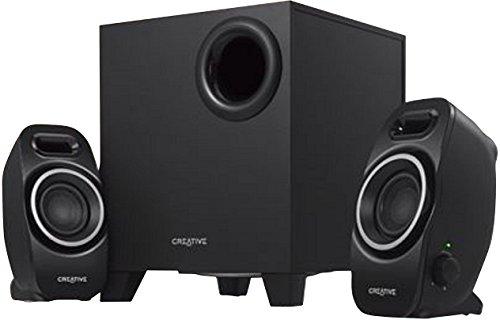 Renewed  Creative SBS A255 2.1 Speaker System  Black