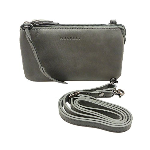 Bag To Shoulder Woman Burkely Back Gray Leather Gray HFROFWncET