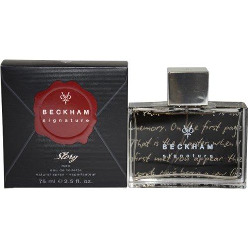 Beckham Signature Story by Beckham Eau-de-toilette Spray for Men, 2.5 Ounce (Musk Peony Toilette De Eau White)
