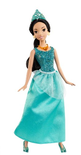 Disney Princess Sparkling Princess Jasmine Doll -