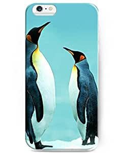 DaojieTM Generic Hot Selling Fashion Penguin Brothers Back Case Cover for Apple Iphone 6 4.7 Inch