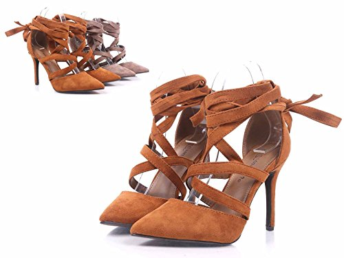 Breckelles Women Pointed Closed Toe 4 kRSfUqM