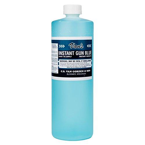 Van's Gun Blue 32oz bottle