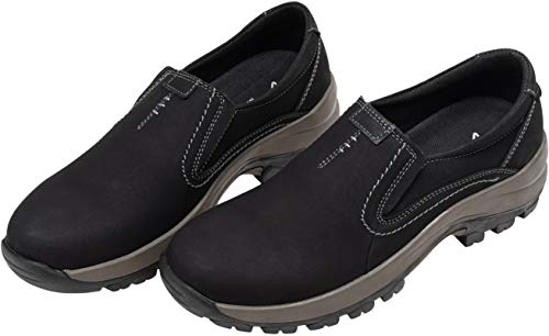 Pictures of JOUSEN Men's Slip On Loafers Jungle Black 10 M US 3