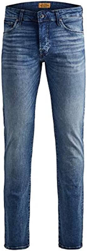 JACK & JONES Male Slim Fit Jeans Glenn ICON JJ 357 50SPS: Odzież