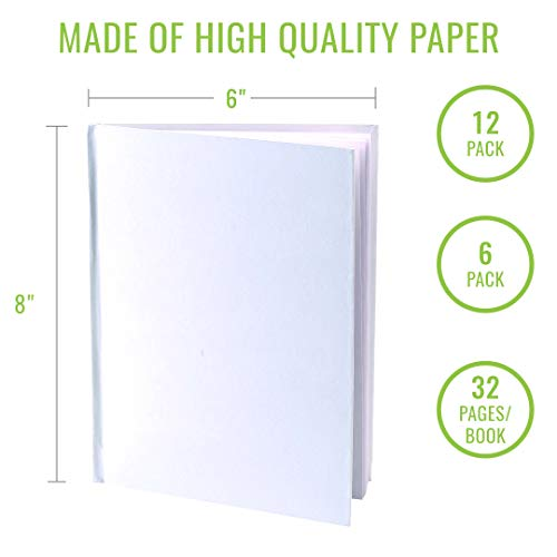 Blank Books (Pack of 6) - 6