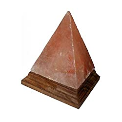 Authentic Himalayan Salt Lamp – Pyramid shape