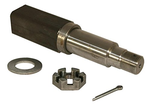 Square Stock - Trailer Axle Spindle For 1-3/8 Inch to 1-1/16 Inch I.D Bearings