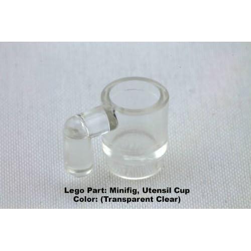 NEW LEGO Minifig Black Transparent Bottle Utensil