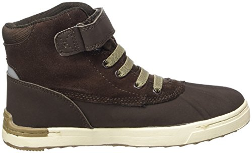 Viking Unisex-Kinder Molde Mid Hohe Sneaker Braun (Dark Brown 18)