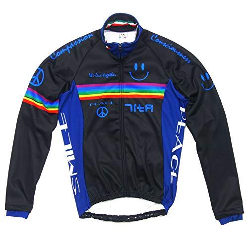 投票余計な思いやりセブンイタリア Neo Rainbow Smile Jacket ブラック XL(78W-NRS-JK-BKXL)