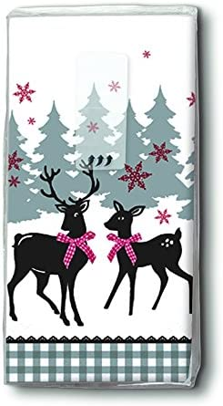 PAPER+DESIGN Motiv Taschentuch FSCMix 10 Stck. Lovely deer