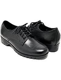 Women's Oxford Dress Shoes Real Leather Breathable Low-Heeled Formal Office Working Business Shoes for Women