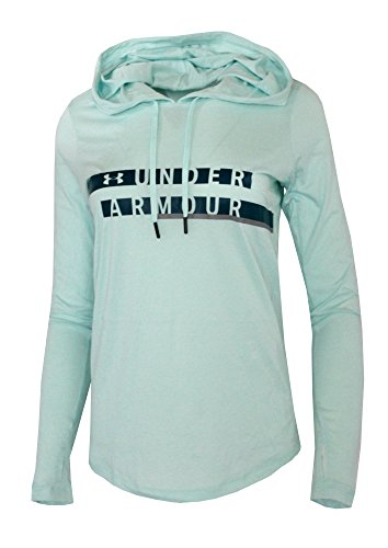 Athletic Hooded Light Cotton Blend Long Sleeve Shirt Top Hoodie (Blue Infinity, L) ()