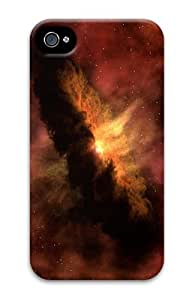 cases unique cosmic explosion PC Case for iphone 4/4S