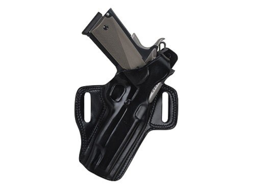 Galco Fletch High Ride Belt Holster for H&K USP Compact 45 (Black, Right-hand) (Mount H&k Usp)