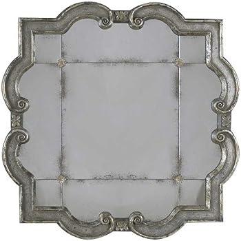 Amazon Com Uttermost 12597 P Prisca Distressed Silver