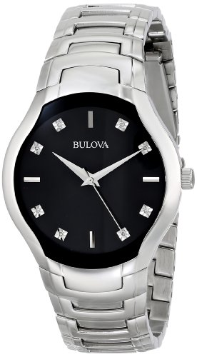 Bulova Men's 96D117 Diamond Dial Watch