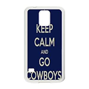 Dallas Cowboys Series, Samsung Galaxy S5 Cases, Mafalda Paz Cases for Samsung Galaxy S5 [White]