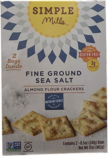 (Simple Mills Almond Flour Crackers, 17 Ounce)