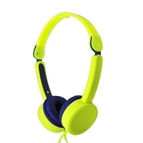 MAXROCK Collapsible Over-head Headphones With Adjustable Headbands 3.5mm Universial Jack (Adjustable Overhead Headphones)