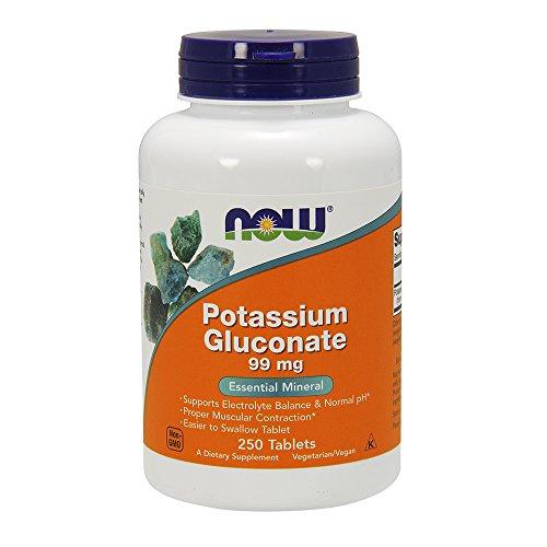 NOW Potassium Gluconate 250 Tablets
