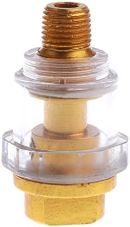 D DOLITY 空気圧 コネクター チューブ 1/4インチ エアー アダプター 配管継手 亜鉛合金