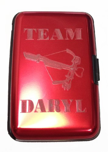 Team Daryl Zombie Dead TV Show - Red