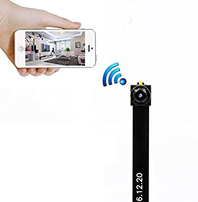 Mini wireless wifi spy hidden Camera , PANNOVO HD 720P wifi ip p2p Camera Motion Detection Wireless Video recorder from PANNOVO