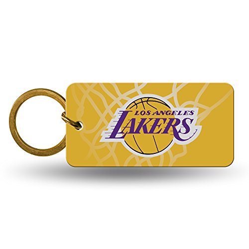 Los Angeles Lakers Official NBA 2 inch Crystal View Key Chain Keychain by Rico Industries 382193