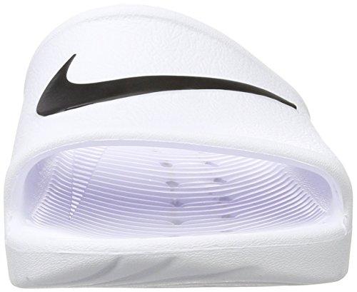 Nike Kawa Shower, Zapatos de Playa y Piscina para Mujer Blanco (White/black)
