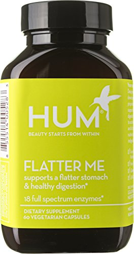 HUM Nutrition - Flatter Me - Digestive Enzymes, 60 Capsules by HUM Nutrition