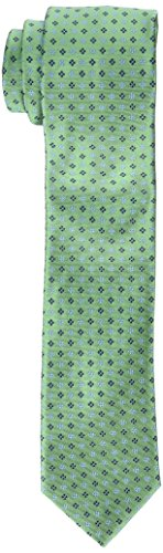 Tommy Hilfiger Mens Core - Tommy Hilfiger Men's Core Neat II Tie, Green, One Size